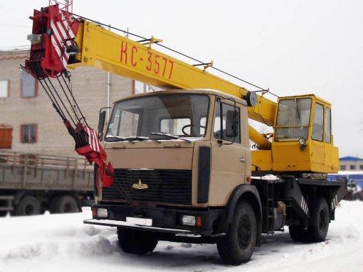 Аренда автокрана Углич КС-3577-3