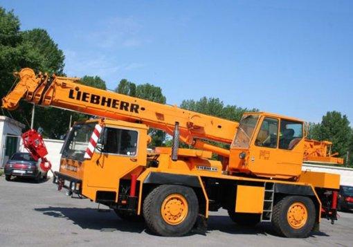 Аренда автокрана Liebherr LTM 1025