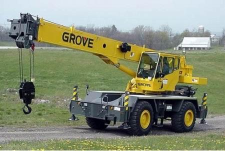 Аренда автокрана Grove RT 530 E