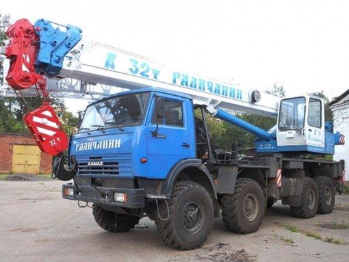 Аренда автокрана Галичанин КС-55729-5В