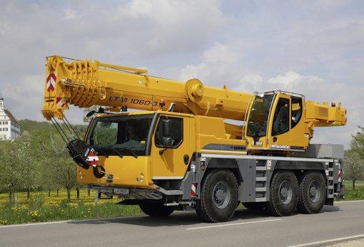 Аренда автокрана Liebherr LTM 1060-3.1