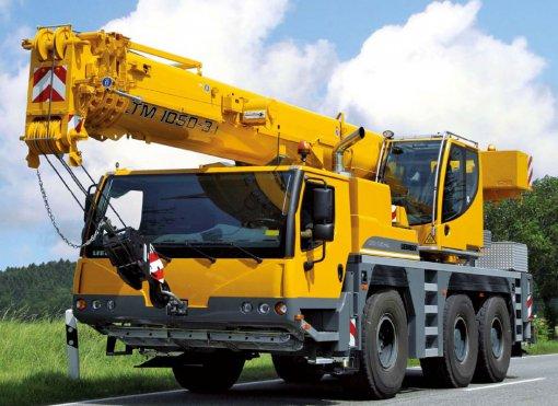Услуги аренды Liebherr LTM 1055-3.2