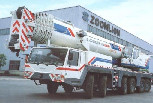 Аренда автокрана Zoomlion QAY260