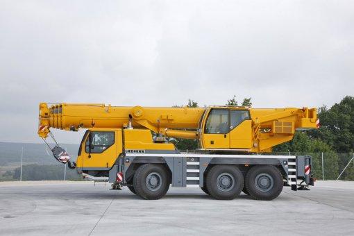 Услуги автокрана Liebherr LTM 1055-3.2